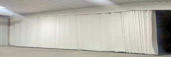 Pvc Lightly Insulated Flexible Industrial Curtain Walls