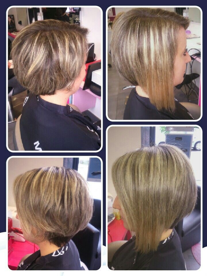 Pin By Some Guy On Back View Assym Bobs Hair Beauty Brest Hair