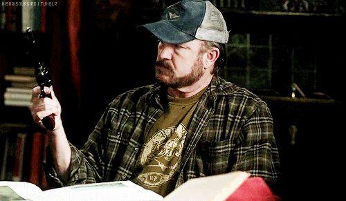 Jim Beaver as Bobby Singer | Bobby singer, Singer ...