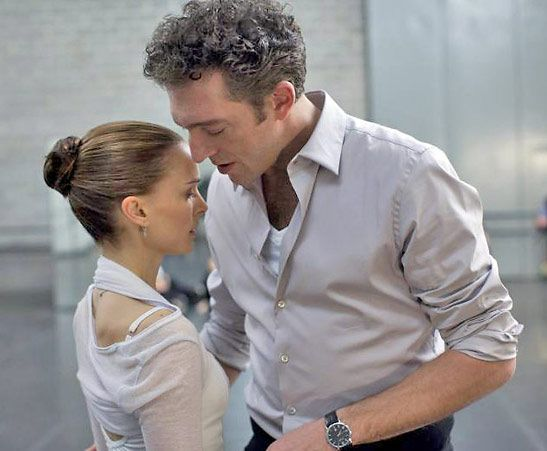 Vincent Cassel e Natalie Portman no filme Black Swan ...