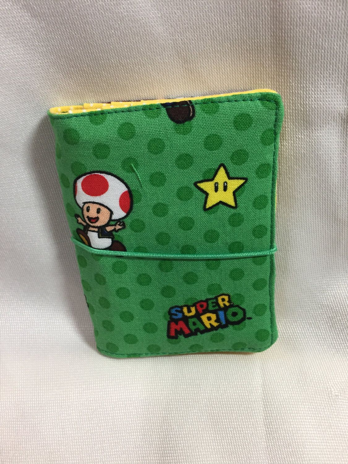 Super mario world business card holderwallet by mommymarycrafts on super mario world business card holderwallet reheart