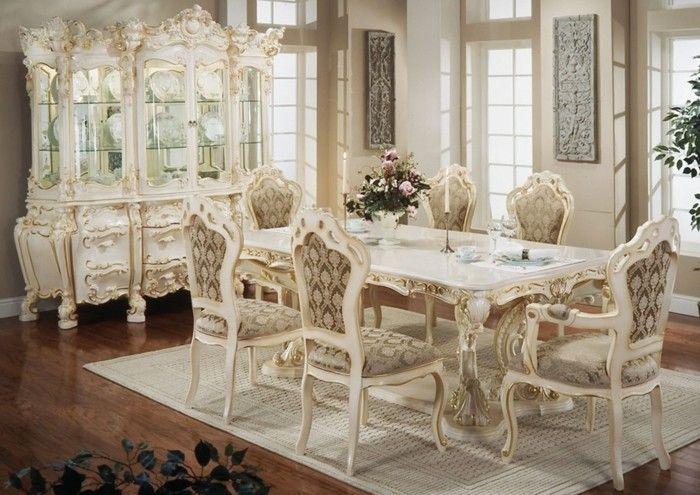 Perfekt Landhausstil Esszimmer Französischer Stil Beige