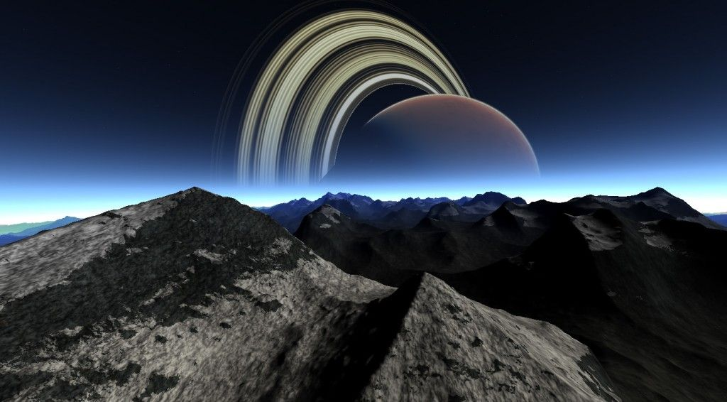 The Beauty Of Planetary Rings | Galaxy wonder, Space art ...