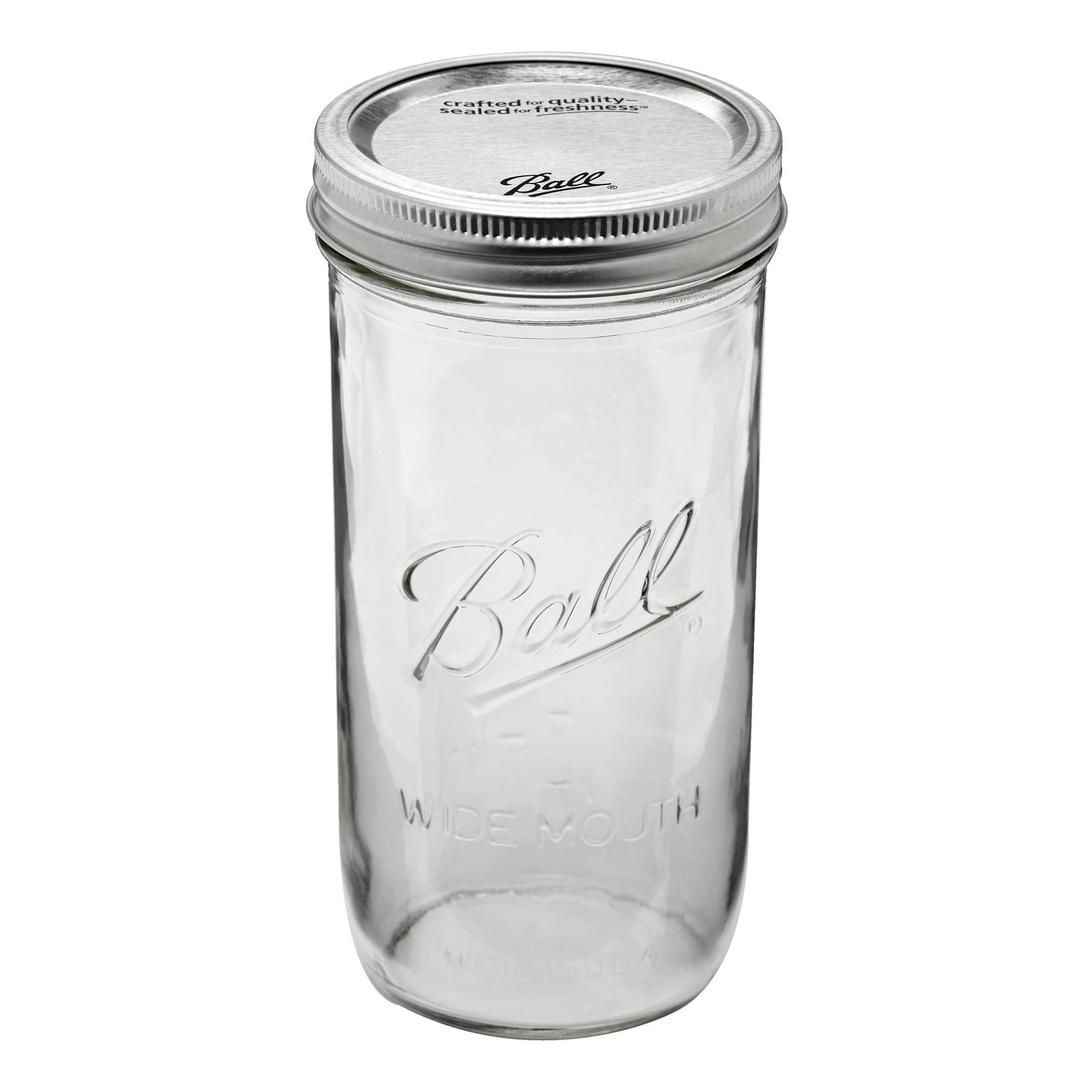 Pack Of 9 Ball Mason 710ml Wide Mouth Preserving Jars In 2020