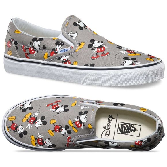 Explícito Depresión Conectado  Disney Mickey Mouse vans | Mickey mouse vans, Disney vans, Vans