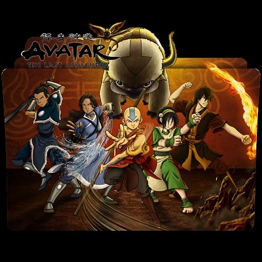 Avatar The Last Airbender Icon Folder by ubagutobr on