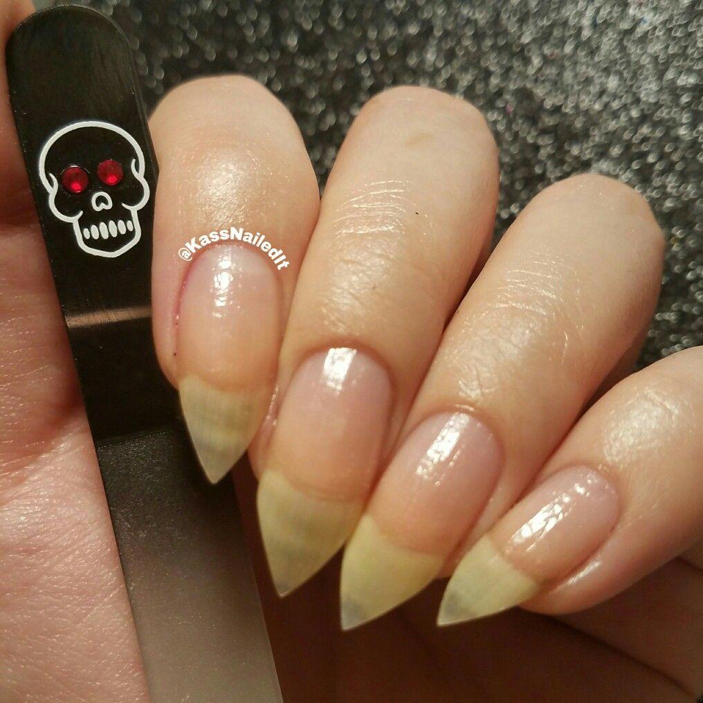Bona Fide Beauty Skull Czech Glass Nail File Stilleto Long Sharp Natural Nails Nail Art Midi Knuckle Rings Fashion Mani D Glass Nail File Nails Natural Nails