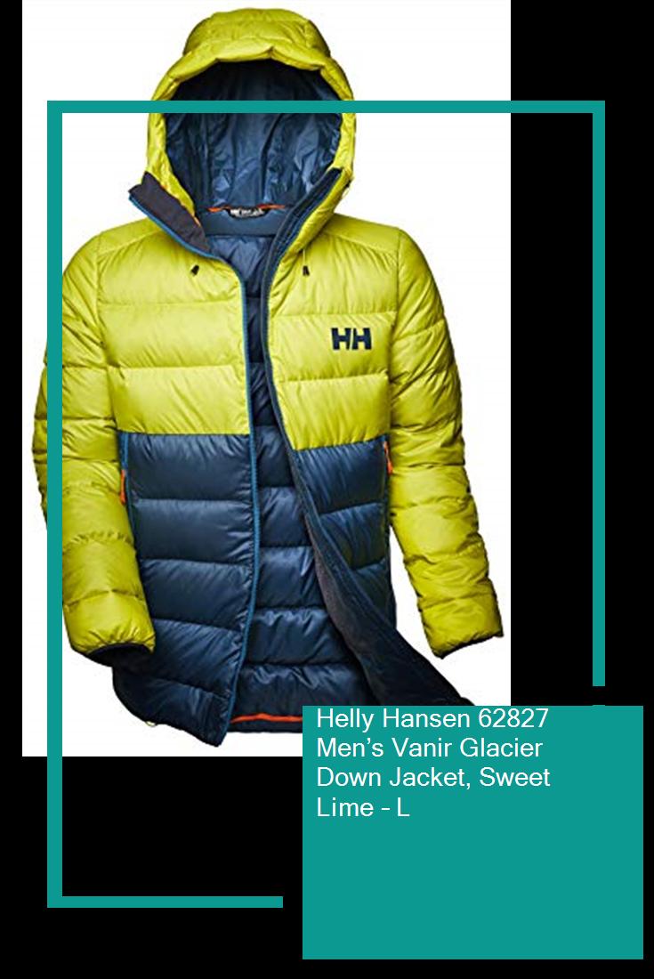 Helly Hansen 62827 Men's Vanir Glacier Down Jacket, Sweet