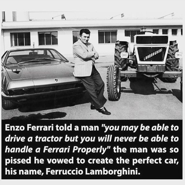 If you haven't already heard the story of Enzo Ferrari and Ferruccio