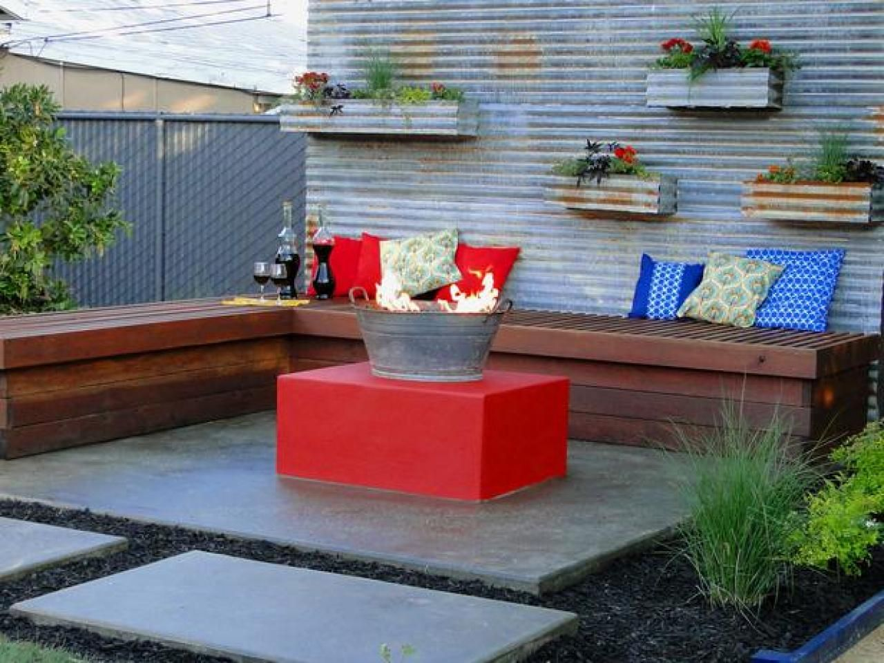 cheap fire pit ideas cheap fire pit simple designs and hgtv