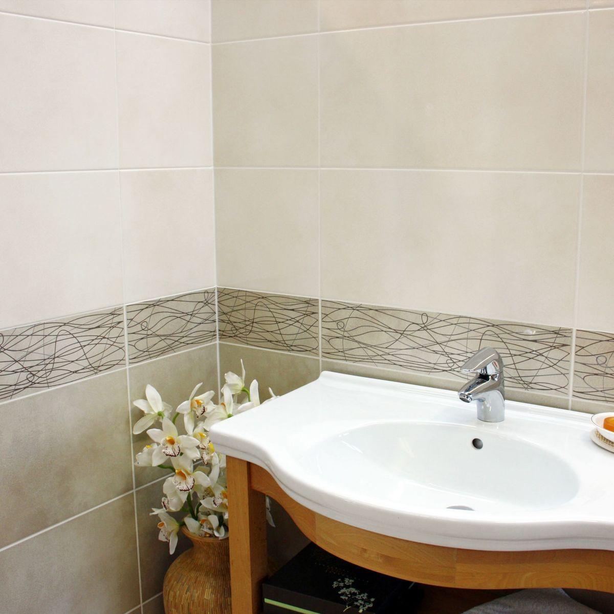 Bloom Cream Wall Tiles Clearance Bloom Cream Wall Tiles Clearance In 2019 Kitchen Bath Cream Walls Wall Tiles Home Decor