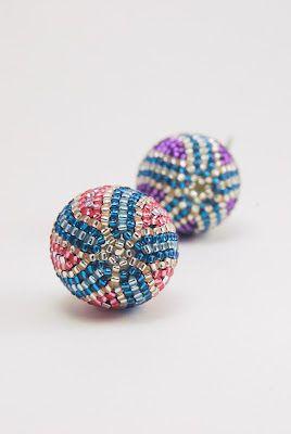 Peyote Stitch Beaded Beads