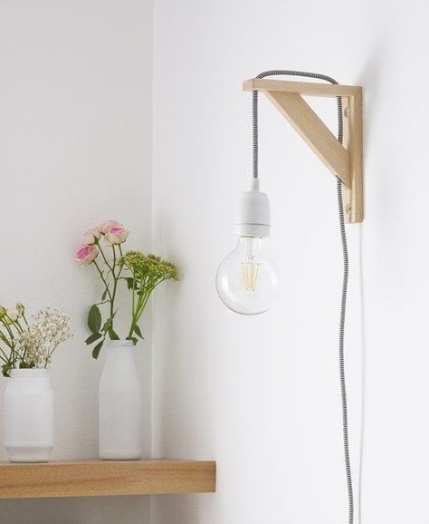 Diy une suspension minimaliste deco pinterest deco - Luminaire pour chambre adulte ...