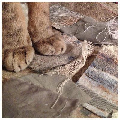 milliande Art Studio Blog: Meandering Stitches - #UnRulyCloth #stitch #mixedmediaart #CAPI