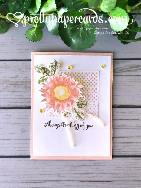 Stampin Up Painted Harvest Card
