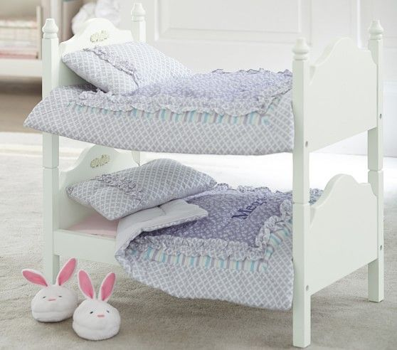 Doll Bunk Bed Doll Bunk Beds Bunk Beds Pottery Barn