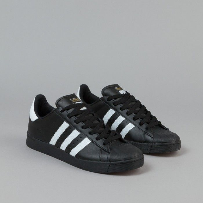 NEW ADIDAS SUPERSTAR VULC ADV (BB8611) Training Shoes