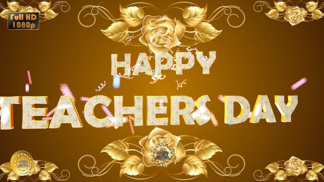Happy Teachers Day 2020 Wishes Whatsapp Status Greetings Animation 5 September Video Dow In 2020 Happy Teachers Day Happy Teachers Day Wishes Teachers Day Wishes