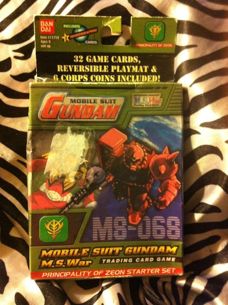 Mobile Suit Gundam M.S.War Trading Card Game Principality