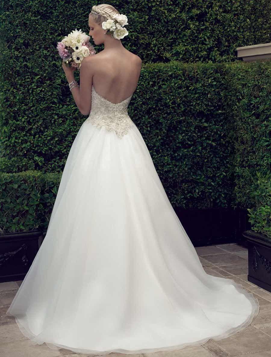 Casablanca 2191 Wedding Dress Size 10 Wedding dresses