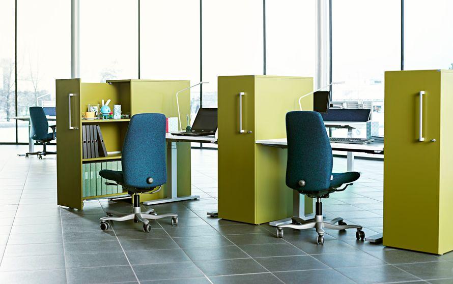 Postes de travail kinnarps w nef en bureau