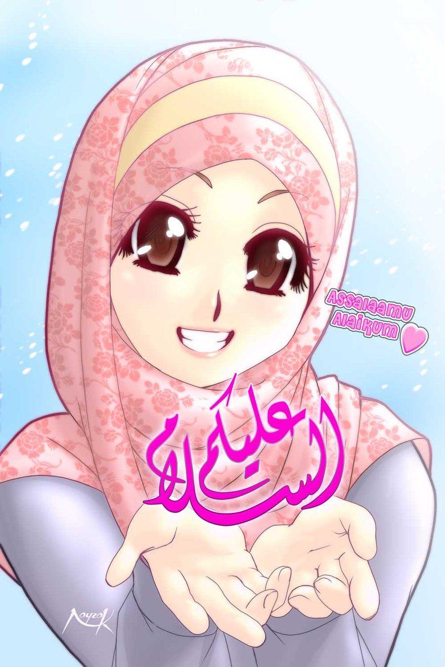 Gambar Kartun Muslimah II Sang Manusia Akhir Zaman