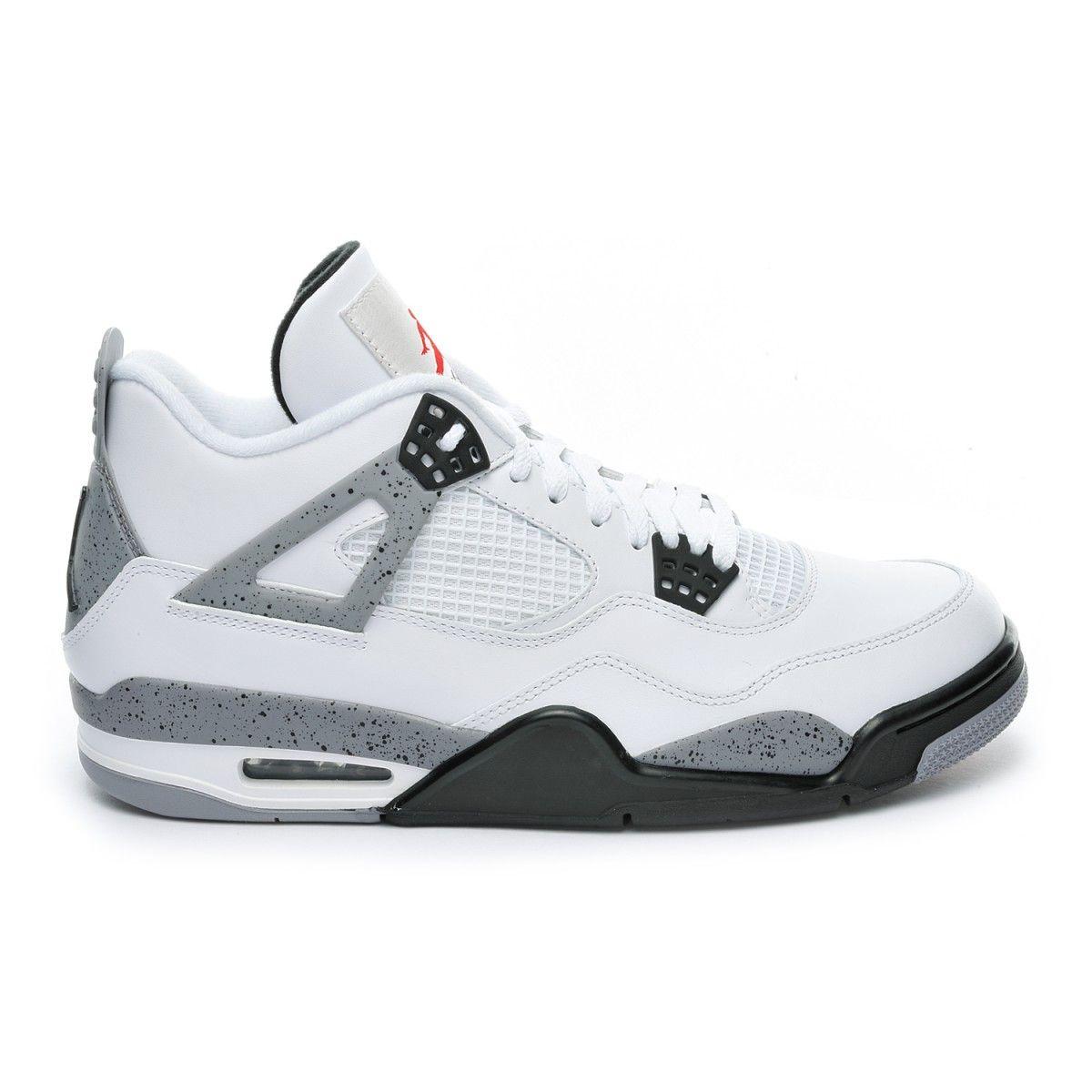La Nouvelle Iv En Sur White 7 Cement Nike Sneaker Vente Jordan Air eEH92YbIWD