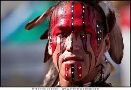native indian war paint - Google Search