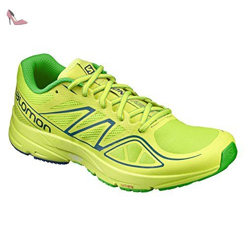 Salomon Sonic Aero, Sneakers trail-running homme - vert - Vert (Lime Green
