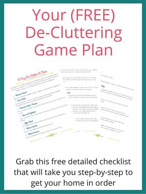the ultimate de cluttering checklist - How Do I Declutter My House