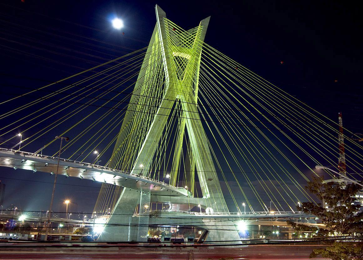 Oliveira Bridge Brazil Worldu0027s First X shaped Bridge