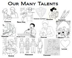 Parable Of Talents Sunday School Lesson Let Us Keep In Mind That