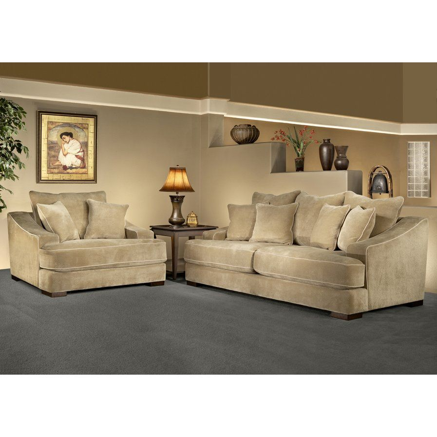 Best Cameron 2 Piece Sofa Set Living Room Sets Living Room 400 x 300