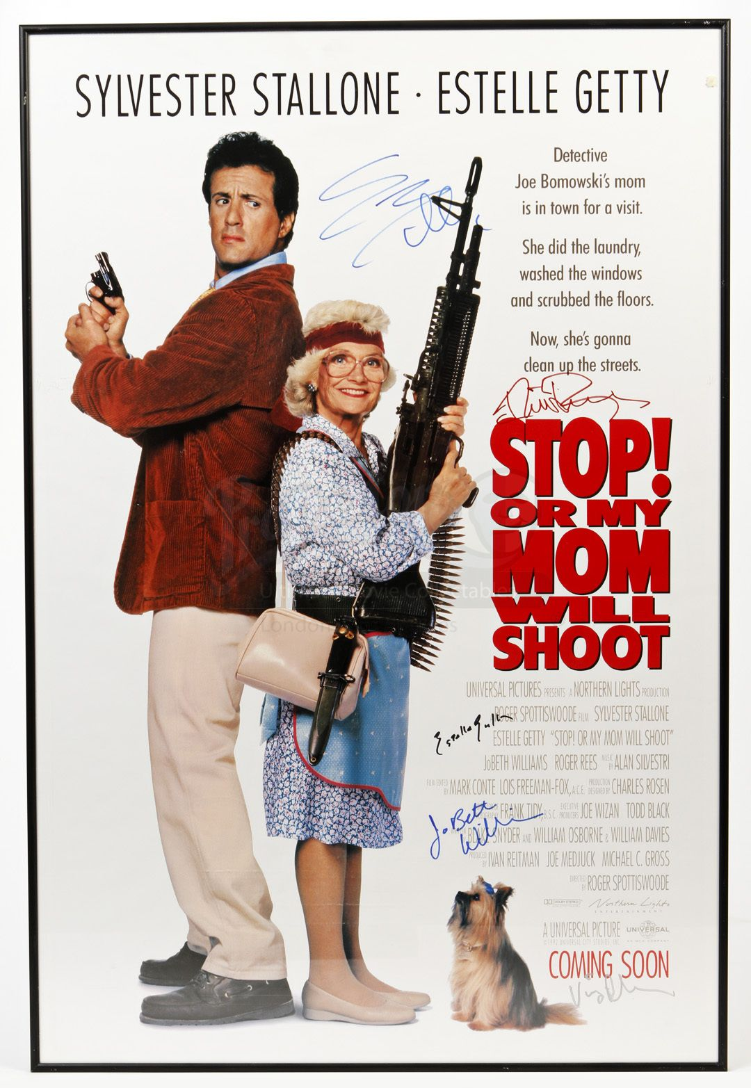Stop Or My Mom Will Shoot 1992 Sylvester Stallone Best Movie Posters Jobeth Williams