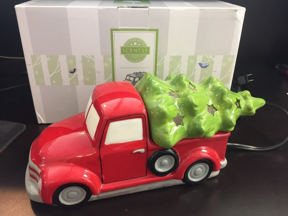 Scentsy Special Delivery Warmer Special Edition Red Truck Christmas ...