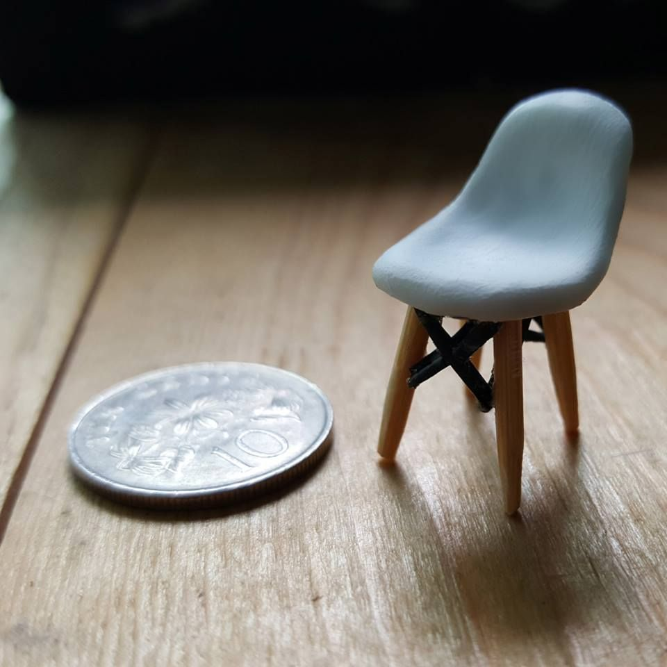James Eames Lounge Chair My Miniature James Eames Chair That Is The Size Of A 10 ...