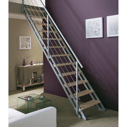 Escalier Modulaire Escavario Structure Acier Galvanise Marche Acier Galvanise Escalier Modulaire Escalier Escamotable Escalier