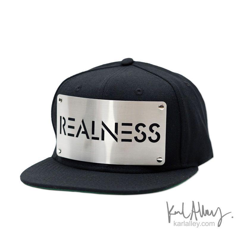Realness Snapback Hat - Karl Alley Original Hardware  84e4b00731da