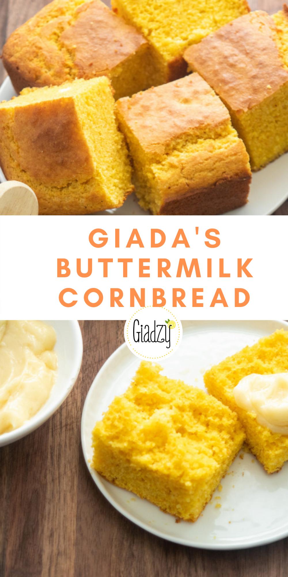 Giada S Buttermilk Cornbread Giadzy Recipe In 2020 Bread Recipes Sweet Bread Recipes Homemade Best Bread Recipe