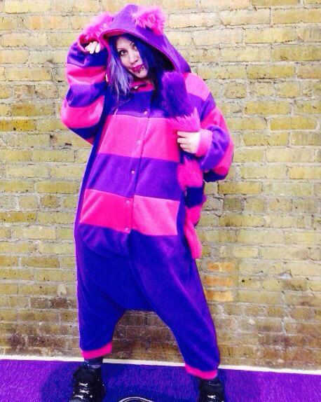 Cheshire Cat Kitty kigurumi fursuit costume cosplay by pawstar!!!! Best way  to keep crazy warm a27f192788f1b
