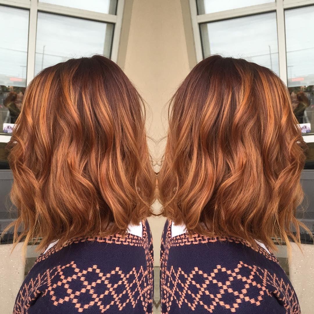 Rotbraune Haare: Trend