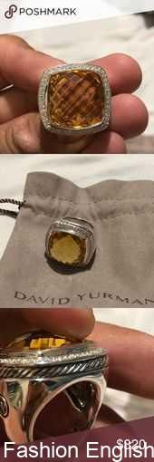 David yurman albion ring 20mm lemon citrine David yurman Albion ring lemon citri