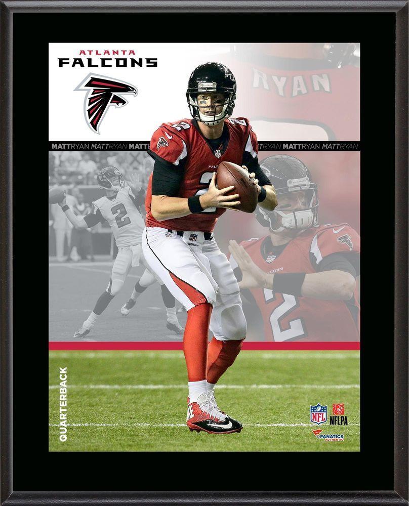 Matt Ryan Atlanta Falcons Sublimated 10 5 X 13 Composite Plaque Fanatics Authentic Certified Team Atlanta F Atlanta Falcons Atlanta Atlanta Falcons Fans