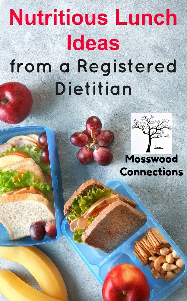 Nutritious Lunch Ideas from a Registered Dietitian