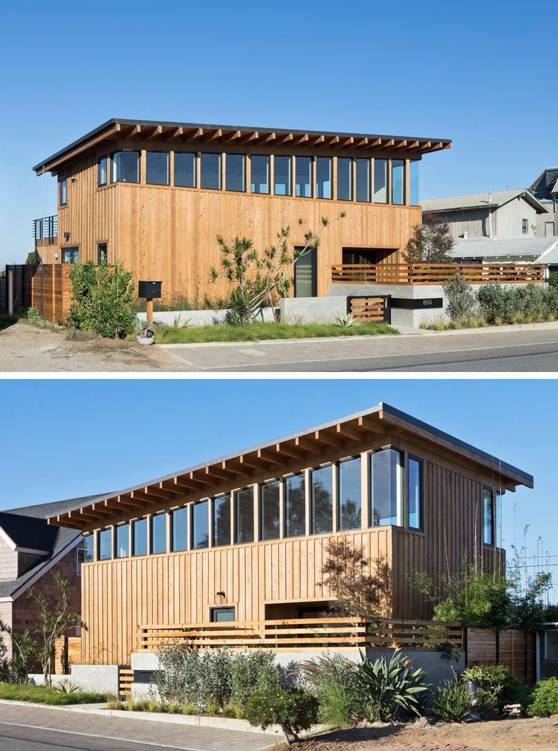 Brett farrow architect has completed the cornish house a new modern residential project located in the southern california coastal community of encinitas