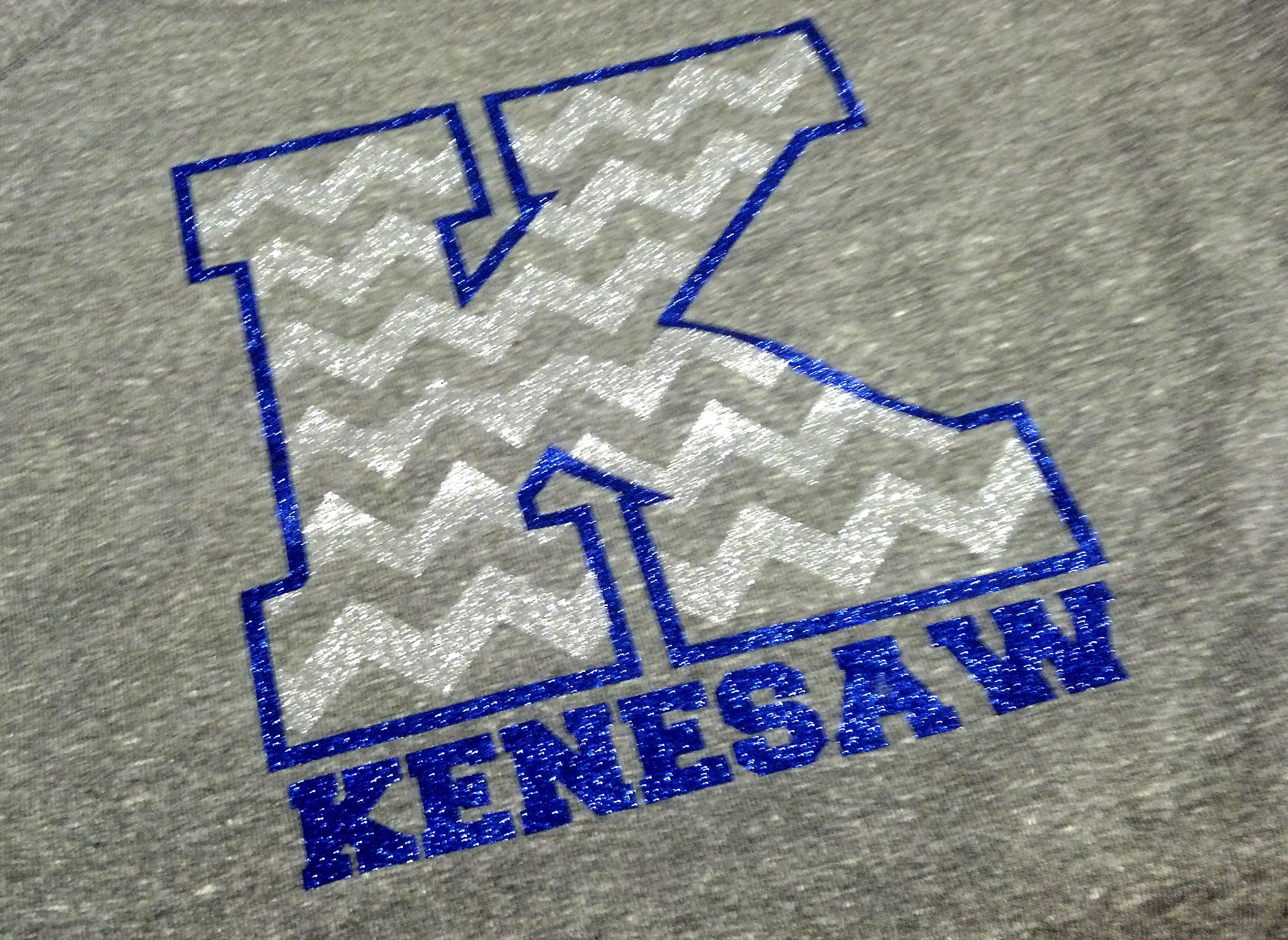 Shirt design press - Kenesaw Apparel Glitter Vinyl Glitter Heat Press Chevron T Shirt