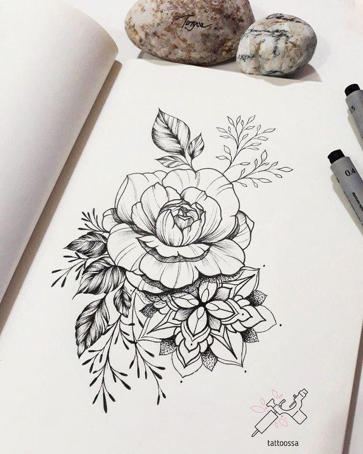 200 Fotos von Frauen, die sich nicht inspirieren lassen – Fotos e Tatuagens #flowertattoos Flower Tattoo Designs #besttattooideas - diy best tattoo ideas - Tattoo