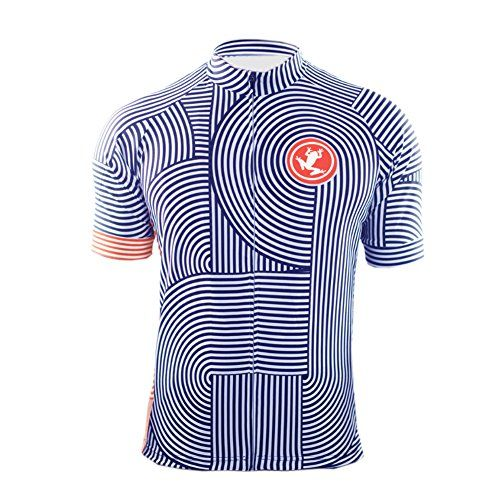 Uglyfrog New Cycling Bike Jersey Short Sleeve Fullzip Mens Summer ... 9d378b03f