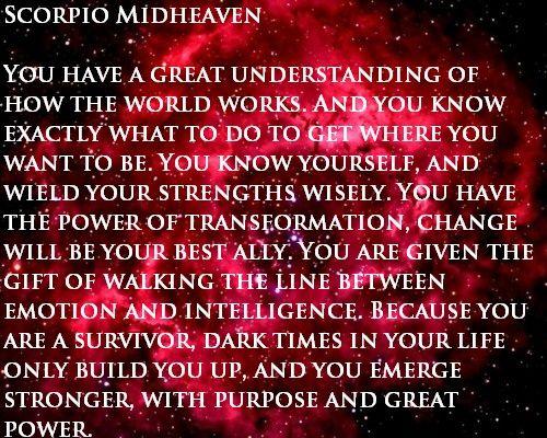 Scorpio Midheaven/10th house, with Pisces Sun, Mercury in Pisces