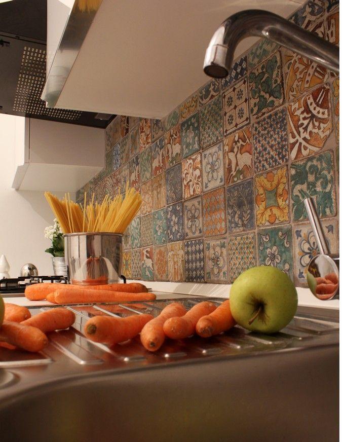 Italian tiles   Kitchen re-do inspiration   Italian tiles